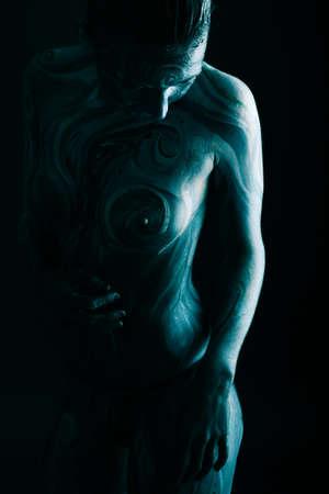 Bodypainting project: art, fashion, beauty photo
