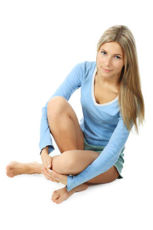 Shot of a sporty young woman. Active lifestyle, wellness. photo