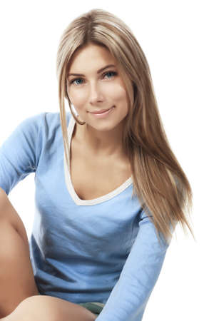Shot of a sporty young woman. Active lifestyle, wellness. Stock Photo - 4557476
