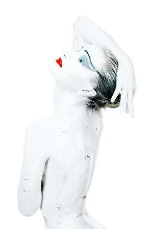 Bodypainting project: art, fashion, beauty Stock Photo - 4662877