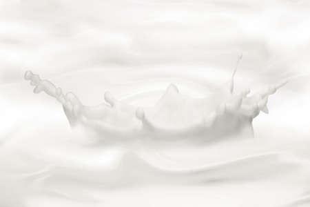 milk milk products: Leche fant�stico fondo. Suelta, las olas, salpicaduras. Foto de archivo