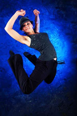 Shot of a modern female dancer. photo