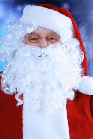 st  nick: Christmas theme: Santa Claus, snowy design.