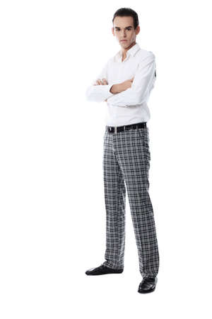 Portrait of a successful young man in elegant suit. Stock Photo - 5942126