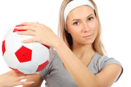 Shot of a sporty young woman. Active lifestyle, wellness. Stock Photo - 6098254