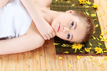 Portrait of a styled professional model. Theme: healthcare, beauty, fashion photo