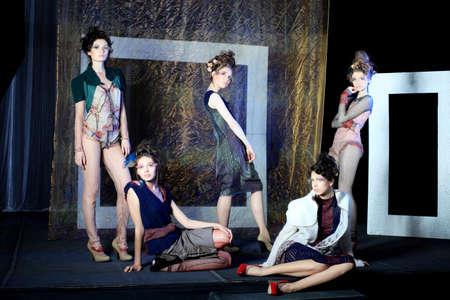 Fashion project, retro style. Stock Photo - 6939586