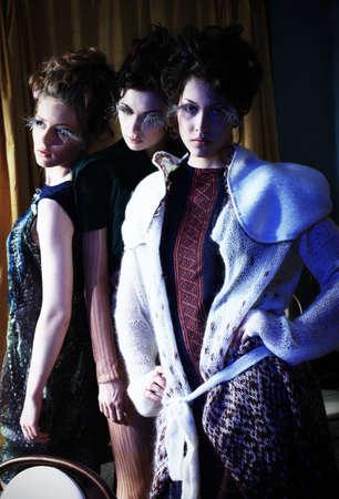 Fashion project, retro style. Stock Photo - 6939525