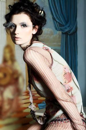 Fashion project, retro style. Stock Photo - 6939951