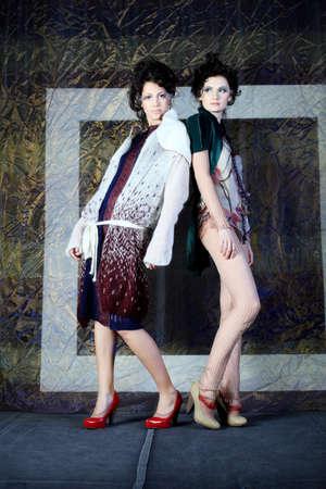 Fashion project, retro style. Stock Photo - 6939890