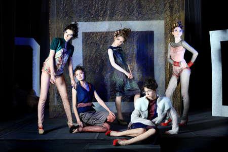 Fashion project, retro style. Stock Photo - 7001254