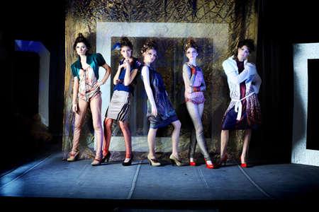 Fashion project, retro style. Stock Photo - 7001286