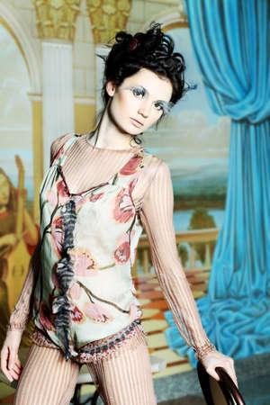 Fashion project, retro style. Stock Photo - 7251940
