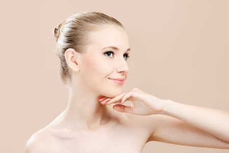 Portrait of a styled professional model. Theme: beauty, healthcare. Stock Photo - 7367316