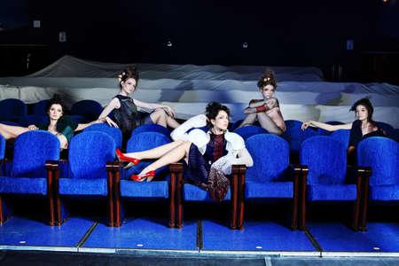 Fashion project, retro style. Stock Photo - 7315723