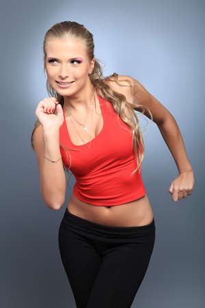 Shot of a sporty young woman. Active lifestyle, wellness. Stock Photo - 8714132