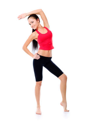 Shot of a sporty young woman. Active lifestyle, wellness. Stock Photo - 9454418