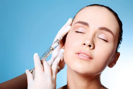 Beauty therapeutical female skin juvenation. photo
