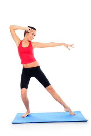 poise: Shot of a sporty young woman. Active lifestyle, wellness.