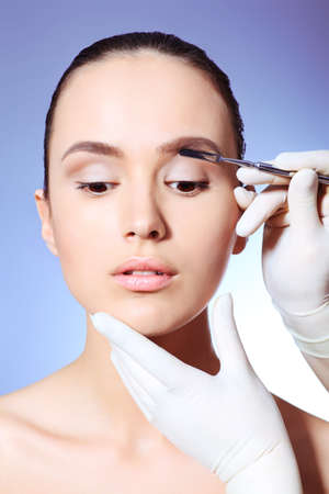 Beauty therapeutical female skin juvenation. Stock Photo - 9773492