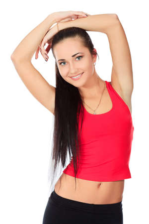 Shot of a sporty young woman. Active lifestyle, wellness. Stock Photo - 9837178