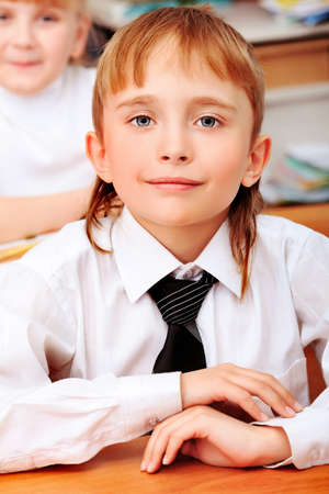 Children at school during the lesson. Stock Photo - 10250744