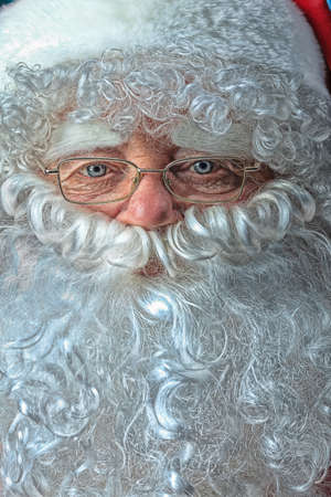 Portrait of Santa Claus. Christmas. photo