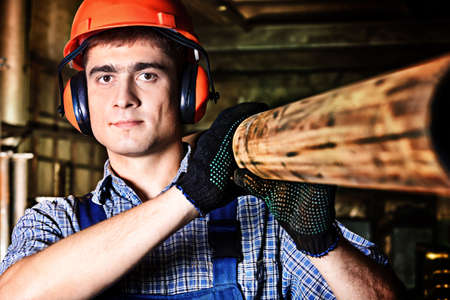 laborers: Industry: a worker at a manufacturing area.