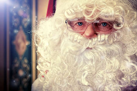 Portrait of a fairy Santa Claus at home.  Stock Photo - 16740101