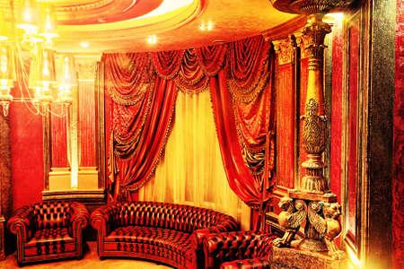 Photo of a luxurious interior. photo