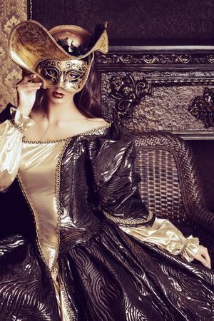 Venetian masquerade carnival.