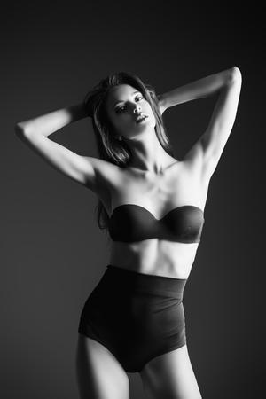 Slender woman sexy