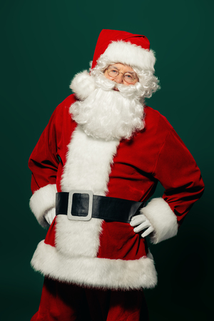 A portrait of Santa Claus. Merry Christmas and Happy New Year!