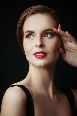 Portrait of a beautiful elegant girl