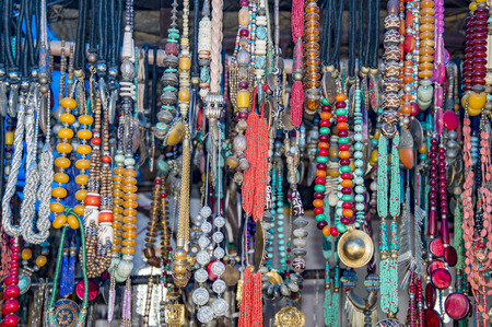 tantric: Garlands of tantric beads of different colors