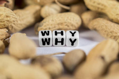 satire: Why text with peanuts around it to show the satire