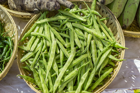 Cluster beans and other vegetables