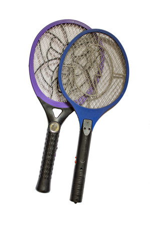 Mosquito killer electric bat racket and electric shock device