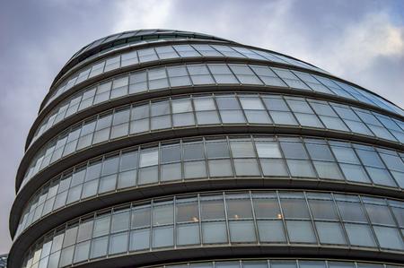 The glass building of helmet design at south side of london uk Imagens