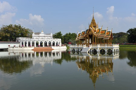 Bang Pa-In, The Palace in Thailand photo