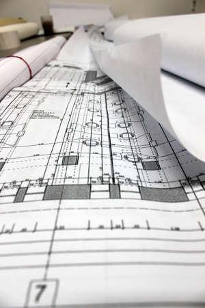 architecture plans photo