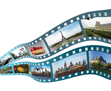 Film Strip Stockfoto