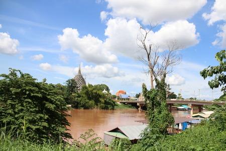 Landschaft des Flusses Standard-Bild - 31658122