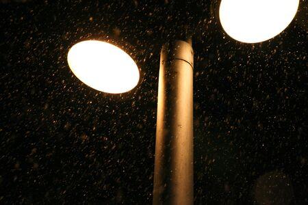 snow under light Stock Photo - 12672262