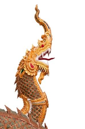 Dragon statues, symbols of Buddhism     photo