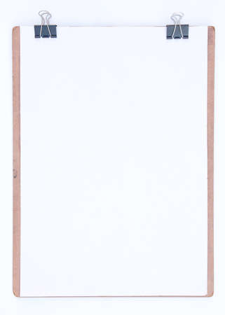 The drawing board on a blank white background  Stock Photo