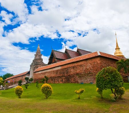 Wat Phra That Lampang Luang in Lampang, Thailand. Editorial