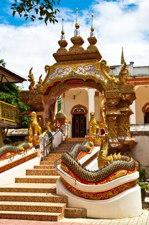 Wat Phra That Lampang, Thailand, at least. Stock Photo - 13021283
