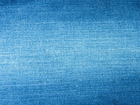 The surface of the top blue jeans.  photo