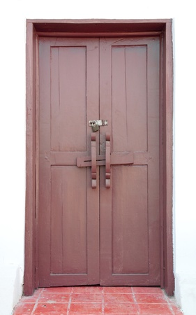 Wooden doors  photo